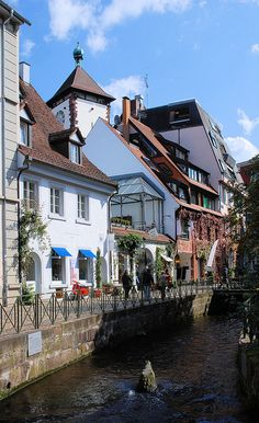 Freiburg, Germany...here two weeks ago...cute little quiet college town at the base of the Black Forest