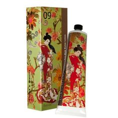 Tokyo Milk Kabuki No. 9 Hand Cream - Shea Butter & Lychee make for a divine pair when you hydrate your hands with this soft and sweet hand cream. Deliciously scented and nourishing, this hand cream will leave your hands soft and non-greasy.