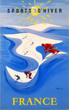 1948 Sports d'Hiver France 01