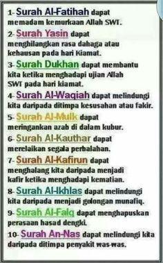 Hasil gambar untuk kelebihan surah al waqiah Prayer Verses, Quran Verses, Quran Quotes, Hijrah Islam, Doa Islam, Reminder Quotes, Self Reminder, Islamic Inspirational Quotes, Islamic Quotes