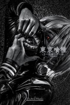 Ken Kaneki by YUEGENE