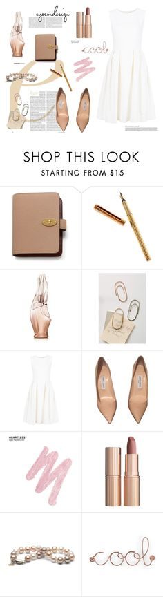 """❤️❤️❤️"" by tinkabella222 ❤ liked on Polyvore featuring Mulberry, Cartier, Donna Karan, Sibilia, ADAM, Jimmy Choo, Urban Decay, Charlotte Tilbury and Umbra"