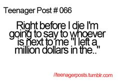 Teenager Post #066