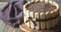 Čokoládová šarlota   - dôkladná príprava krok za krokom. Recept patrí medzi tie najobľúbenejšie. Celý postup nájdete na online kuchárke RECEPTY.sk. Tiramisu, Chantilly Cream, Vanilla Milk, Custard Recipes, Kinds Of Fruits, Poached Apples, Chocolate Shavings, White Chocolate Chips, Parfait