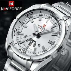 NAVIFORCE Top Luxury Brand Men Sports Watch