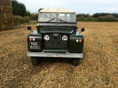 Land Rover 86 Serie II Hard Top. English green.