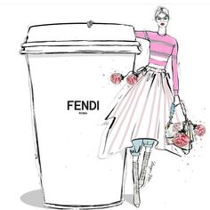 Fendi coffee