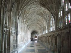 Gloucester Cathedral, scenes from the second Harry Potter movie were filmed here!