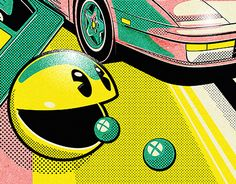 "Check out new work on my @Behance portfolio: ""We love the 80ies Action"" http://on.be.net/1FOGNaJ"