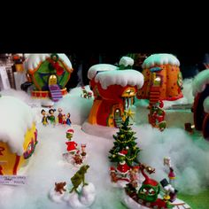 How the grinch stole Christmas village!