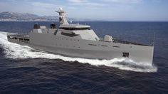 OPV's and other such As shown in this artist's rendering, Damen's OPV-2 design features its distinctive Sea Axe bow form.