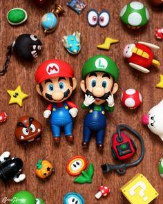 Mario Madness!  #Nintendo #Nendoroid #ToyPhotography #Mario #Luigi #VideoGames #Gaming #SuperMario #Photography #Anime