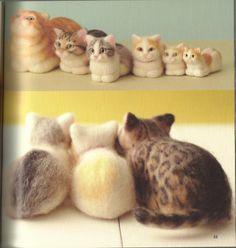 Cats needle felting ebook No. 31 por ebooksbooth en Etsy