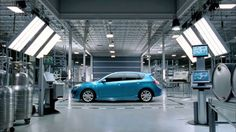 Rhino Supervises Entire Assembly Line for Mazda Assembly Line, Mazda, Garage, Vehicles, Car, Blue, Tech, Google, Inspiration