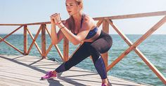 This Tabata workout from Kaisa Keranen uses burpees, planks, lunges, and push-ups to get your whole body burning in less than five minutes.