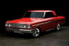 The Fairlane name was moved to Fords new intermediate, introduced for the 1962 model year to bridge the gap between the compact Ford Falcon and