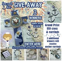 GIVE-AWAY at Son and Sea US navy mom jewelry https://www.etsy.com/shop/sonandsea