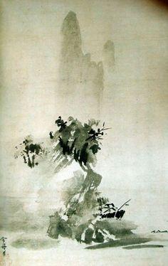 Hoboku-sansui, 1495 – SESSHŪ Tōyō 雪舟等楊 (1420-1506)