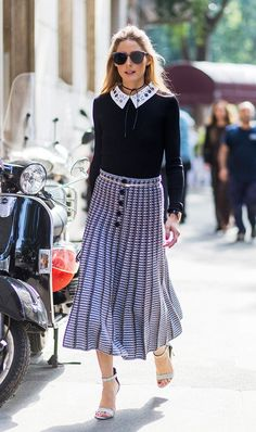 Observed: There are certain common things that Olivia Palermo hasn't been wearing as of late. Find out what they are and what she wears instead, here.