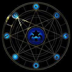 Alcor's summoning circle gravity falls transcendence au - Google Search