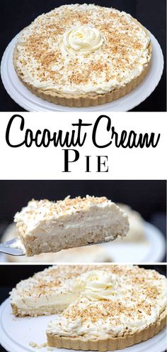 Coconut Cream Pie - Erren's Kitchen