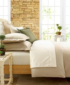 Charter Club Bedding, Damask Solid 500 Thread Count King Duvet Cover - Duvet Covers - Bed & Bath - Macy's $200