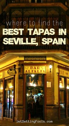 Seville is home to a multitude of tapas bars located throughout the city. We eagerly sampled our way through the city and have complied a list of the best tapas in Seville, Spain! Spain Travel Guide, Europe Travel Tips, Travel Destinations, Holiday Destinations, Budget Travel, Italy Travel, Travel Guides, Drinking Around The World, Travel Around The World