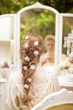 Gorgeous Bridal Haistyle #Hair #Bride / Bellissima Acconciatura da Sposa #Capelli