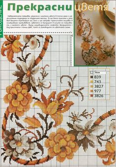 This Pin was discovered by Nik Cross Stitch Borders, Cross Stitch Flowers, Cross Stitch Charts, Cross Stitch Designs, Cross Stitching, Cross Stitch Embroidery, Embroidery Patterns, Cross Stitch Patterns, Cross Stitch Pictures