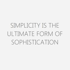 Focus, Do one thing well. Simplicty is power. Get In the Game