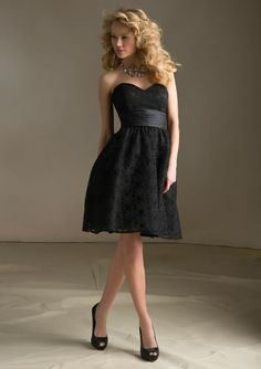 A-Line Sweetheart Neckline Asymmetrical Chiffon Bridesmaid Dress ...