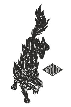 Maximum Black Clothing Company - Design #1 by Marc Schönn, via Behance