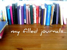 A Peek into my Journal Collection and Journal Keeping Advice   Curious Notions