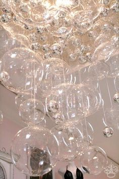 Make your own bubble chandelier!