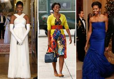 Style icon and First Lady Michelle Obama turns 48 today. Some of her best looks here.