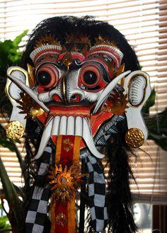 Indonesian Masks | RANGDA MASK BALI TOPENG OLD WOOD DEMON DRAMA INDONESIAHAND CARVED and ...