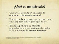Span275.2012: Estructura oracional y párrafo/ recopilado por Prof. Pérez Ramírez