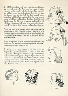 Beauty is a thing of the past: Pin Curls
