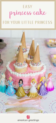Putting the pieces together for a birthday party worthy of your little princess has never been simpler thanks to this Easy Princess Cake recipe, adorable Disney decorations from Target, invitations, and more! This creative party inspiration is sure to make your daughter's fairytale dreams come true.