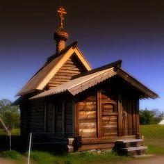 Small Russian Church On Kizhi Island