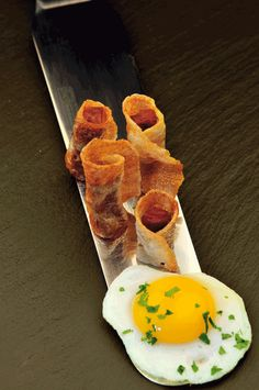"Fried Eggs with Potatoes and Chorizo    Pintxos of Irrintzi, in Bilbao.  The most typical gastronomic manifestation of the Basque Country in Spain, the ""pintxos"" jewels of haute cuisine in miniature, all an homage to one of the greatest gastronomic cultures of the world, Basque, which has turned this part of northern Spain, perhaps the best place to eat around the world."
