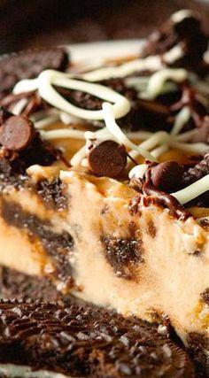 Lightened Up Cookies and Ice Cream Pie