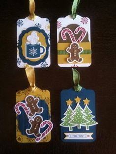 Christmas Tags - cute and look easy