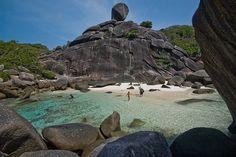 El paraíso intacto de Similan, en Tailandia