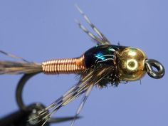 Fly tying - Copper John - YouTube