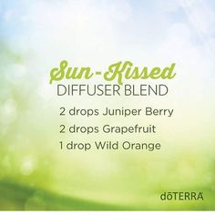 Loving this, diffusing it right now! It's starting to feel like summer! #summeriscoming #sunkissed #doterra #essentialoils