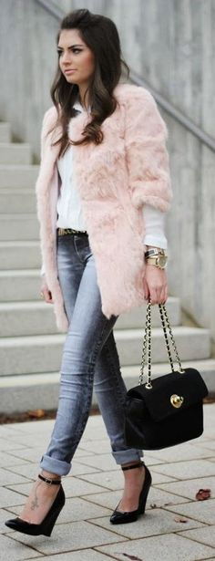 faux fur is back http://www.fashionhippieloves.com/2013/11/faux-fur-is-back.html