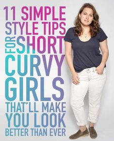11 Style Tips For Petite Curvy Girls - simple tricks that'll make you look slimmer | Buzz Feed #StylingTips #Petite #Curvy Girls