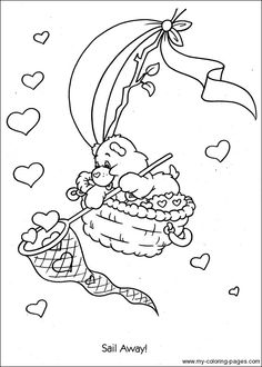 Care Bears Coloring-074 Quote Coloring Pages, Bear Coloring Pages, Cartoon Coloring Pages, Coloring Pages For Kids, Coloring Sheets, Adult Coloring, Coloring Books, Easter Coloring Pictures, Disney Coloring Pages Printables