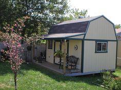 Tuff Shed Premier Tall Barn. Perfect for any house or backyard. Backyard Gazebo, Backyard Sheds, Backyard Retreat, Cottage Garden Sheds, Pool Houses, Tiny Houses, Guest Houses, Rustic Shed, Tuff Shed